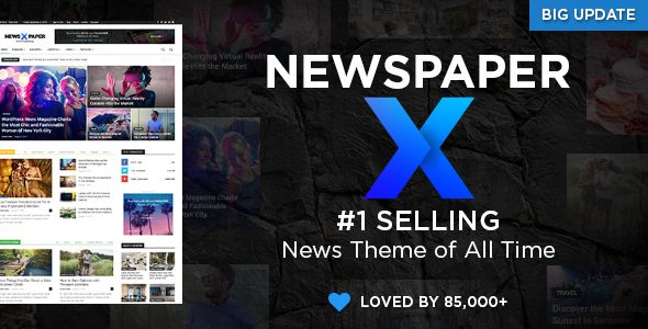 Newspaper Theme Nulled
